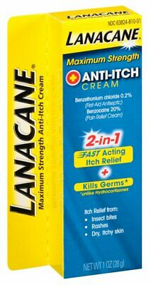 Best Anti-Itch Cream Great for Insect Bites Rashes & Dry Itchy Skin - 1Oz 2