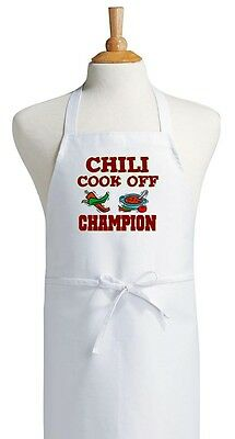 Cooking Apron Chili Cook Off Champion Novelty Kitchen Aprons
