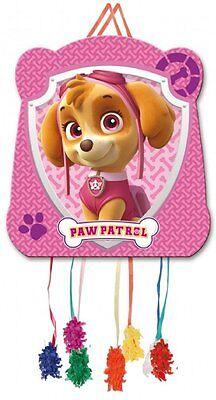 Paw Patrol Party Games (Paw Patrol Skye Pink Girls Pull String Pinata Kids Birthday Party Game)