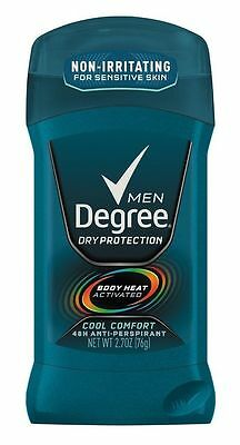 Degree Men Deodorant Invisible Stick Cool Comfort 2 70 Oz  3 Packs