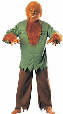 DELUXE MONSTERS THE WOLF MAN WEREWOLF ADULT HALLOWEEN COSTUME SIZE STANDARD](Deluxe Werewolf Halloween Costume)