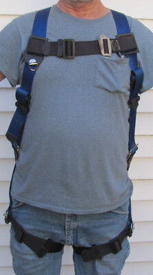 Safety Harness Pass-Thru Buckle Chest Strap Impact Indicator - Pass Thru Buckle