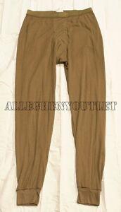 US-Military-LWCWUS-Lightweight-Cold-Weather-Long-Underwear-PANTS-DRAWERS-MEDIUM