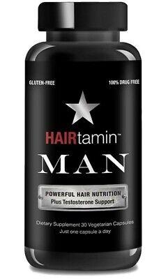 HAIRtamin Man Hair Growth Vitamins - Best Mens Biotin Fast Formula
