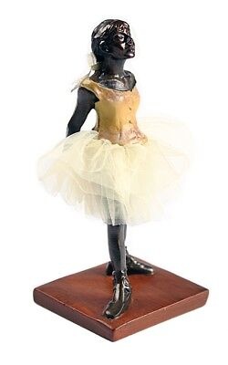 Degas Little Dancer - Pocket Art Degas Little Dancer Ballerina Miniature Statue 4.25H with Gift Box