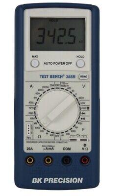 Test Bench Series High Performance Dmm Multimeter Model 388b W Rubberized Case