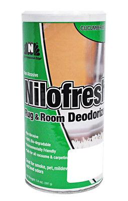 Nilofresh Rug and Room Odor Neutralizer Cucumber Melon Scent 14 oz. (Nilofresh Rug)