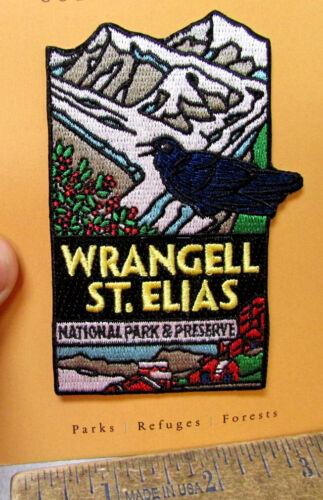Wrangell St Elias National Park Alaska Embroidered Patch, Kennicott copper Mine