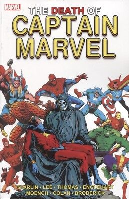 DEATH OF CAPTAIN MARVEL TPB NEW PRINTING MARVEL COMICS NEW/UNREAD