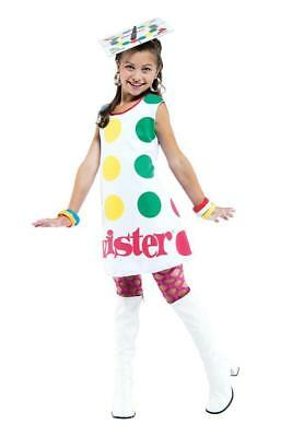 TWISTER GAME BOARD GIRLS COSTUME  - Child Small - Twister Game Costume