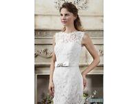Stunning 'White Rose' Wedding Gown