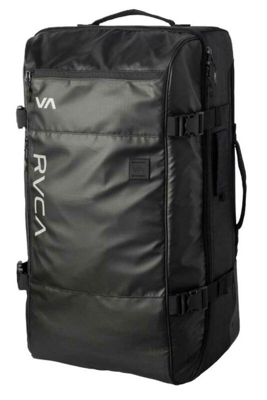 RVCA Eastern Large 110L Roller Luggage - RVCA Black - New
