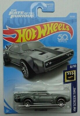 2018 Hot Wheels HW SCREEN TIME 8/10 Fast & Furious Ice Charger 79/365