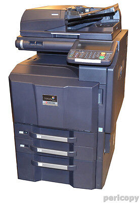 Kyocera TASKalfa 3050ci Farbkopierer Scanner Drucker USB LAN