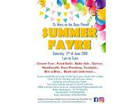 Summer fayre city centre