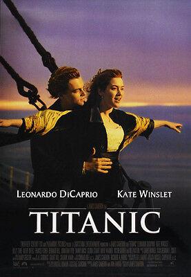 24X36Inch Art TITANIC Movie Poster Leonardo DiCaprio RARE P3