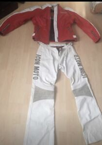 New & Never Worn ICON Leather Riding Gear!