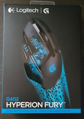 Logitech G402 Hyperion Fury FPS Gaming Mouse with High Speed Fusion Engine (910…
