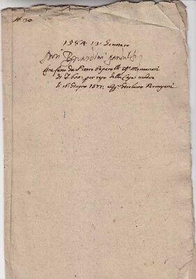 1584 Antique Document Manuscript Handwritten