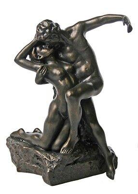 Eternal Springtime Lovers Embrace Eternal Kiss by Rodin 6.75H Museum -