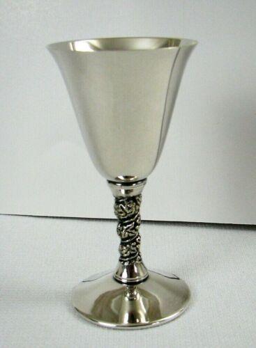 Valero Spain Silverplate Grapevine Wine Glass - EXCELLENT