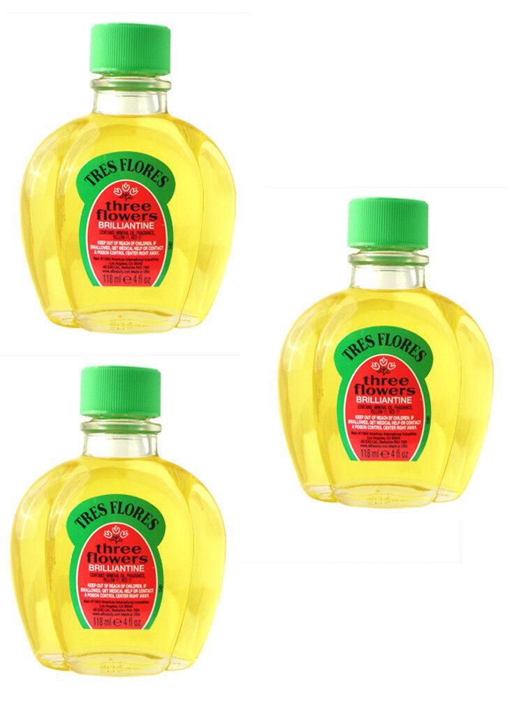 Clubman Pinaud Tres Flores Liquid Brilliantine 3 4 Oz