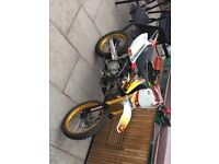 Made to race 160 m2r pitbike