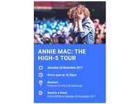 Annie Mac - High5 Tour (Edinburgh)