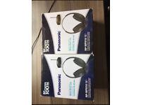 Panasonic Wireless Headphones and Transmitter