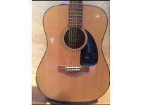 Fender CD-60–NAD Acoustic guitar with strap and tuner included