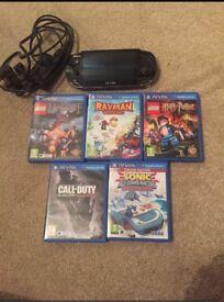 Ps Vita + Games
