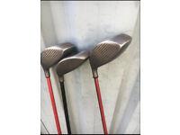 3 Howson golf clubs