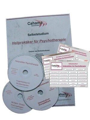 HEILPRAKTIKER PSYCHOTHERAPIE Selbststudium & 2x Prüfungsfragen (Mängelexemplare)