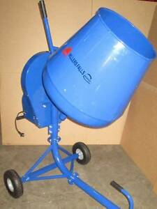 130L Portable CEMENT CONCRETE MIXER 2.2CF 550W Electric Construct Ringwood Maroondah Area Preview
