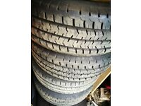 Virtually new Commercial tyres came of a VW T5 Van 205 65 R 16