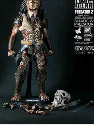 "HOT TOYS Predator 2 SHADOW PREDATOR 1/6 Scale 12"" MIB Toy Fair Exclusive"