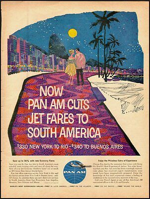 Vintage ad for Pan Am-World's Most Experienced Airline  (071112)