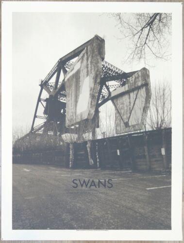 2015 Swans - Barcelona Silkscreen Concert Poster by Crosshair