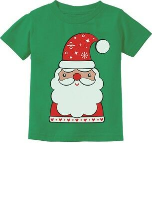 Cute Santa Claus Outfit For Christmas Toddler Kids T-Shirt  - Cute Christmas Outfits For Kids