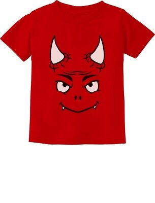 Cute Little Red Devil Halloween Easy Costume Toddler Kids T-Shirt Funny](Cute Easy Costume)