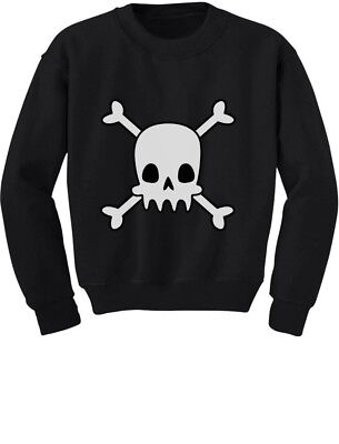 Skulls Cross-bones Cute Halloween Toddler/Kids Sweatshirt Gift Idea