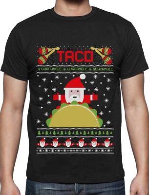 Taco Santa Ugly Christmas Funny T-Shirt Gift Idea](Ugly Christmas Shirt Ideas)