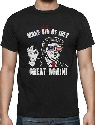 Donald Trump Make 4th of July Great Again T-Shirt Independence Day - 4 Of July Shirts