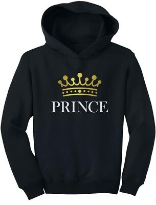 Prince Crown Gift for Son , Brother Little Boys Toddler Hoodie Baby - Crowns For Boys