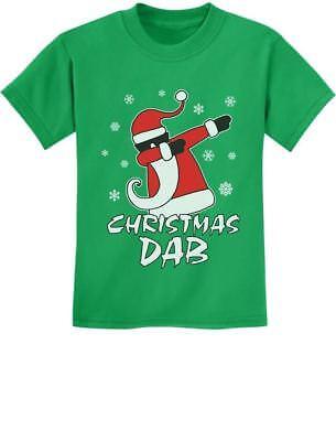 Dabbing Santa Christmas Dab Funny Xmas Youth Kids T-Shirt Gift Idea (Kids Christmas Ideas)