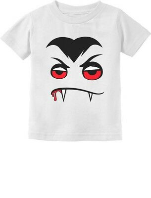 Halloween Easy Costume Vampire Face Infant Kids T-Shirt - Easy Vampire Costumes