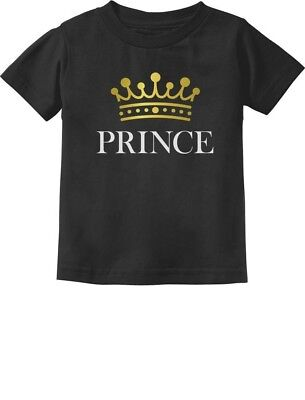 Prince Crown Gift for Son , Brother Little Boys Toddler/Infant Kids T-Shirt - Crowns For Boys