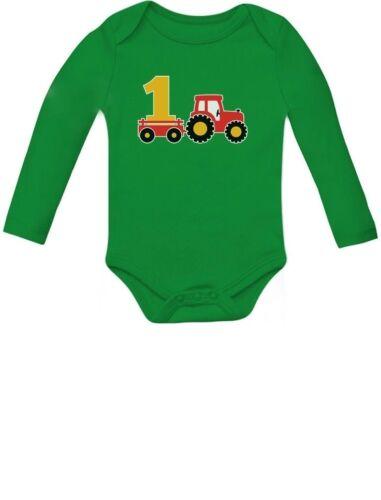One Year Old Boy Birthday Gift 1st Birthday Tractor Baby Lon