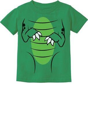 T-Rex Dinosaur Raptor Easy Halloween Costume Toddler Kids T-Shirt Gift