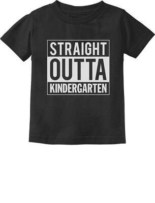 - Straight Outta Kindergarten Graduation Gifts Toddler/Infant Kids T-Shirt Boy /